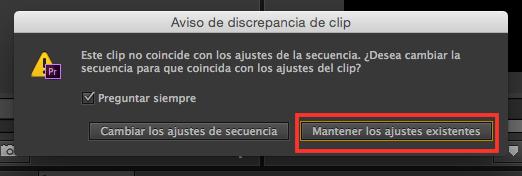 Secuencias, Tutorial Adobe Premier Pro