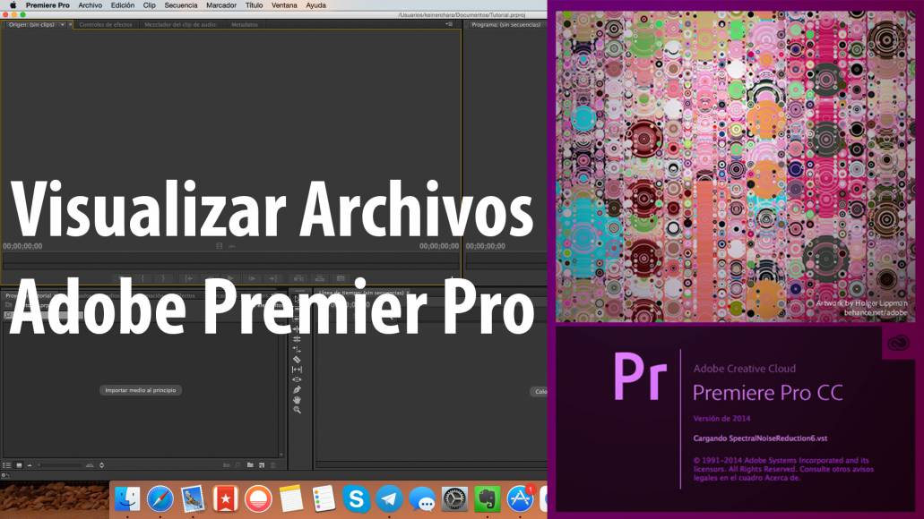 Visualizar Archivos, Tutorial Adobe Premier Pro CC