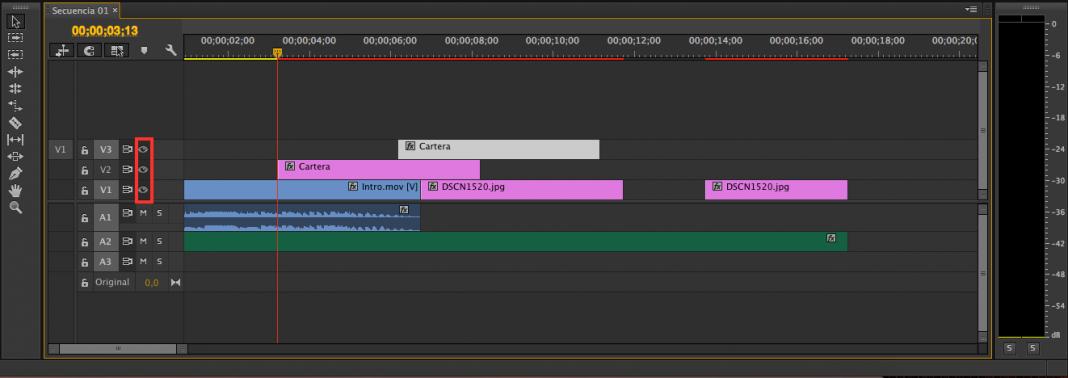 Línea de Tiempo, Tutorial Adobe Premier Pro CC