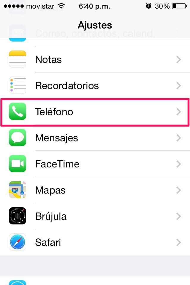 Cómo bloquear un contacto en iPhone