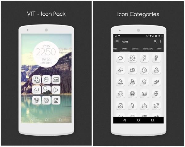 Miescapedigital-5 Icon Packs temáticos para tu Android