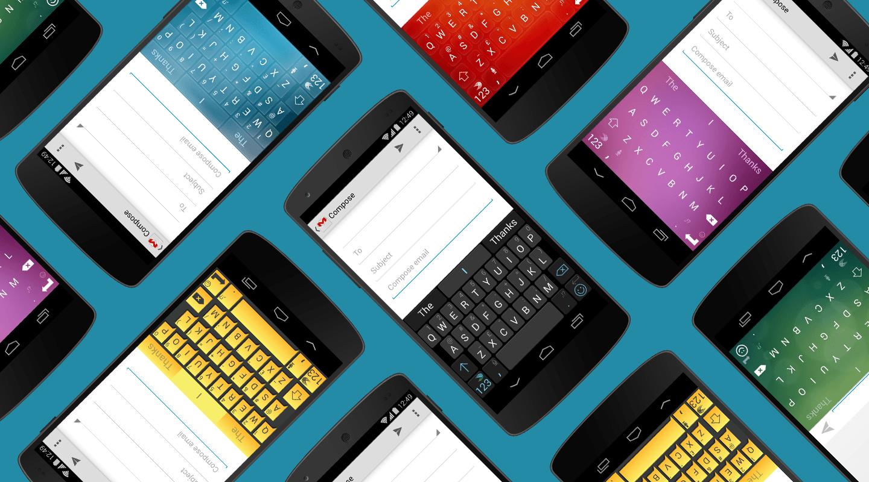 3 teclados para Android y iOS
