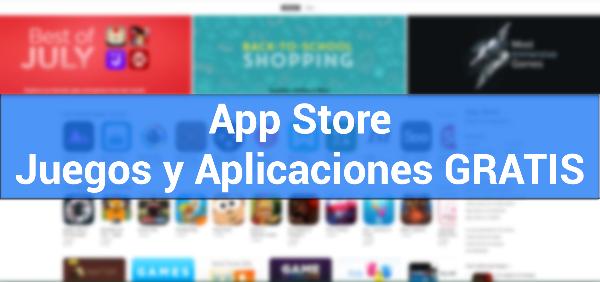 Apps y Jugos gratis para iPhone y iPad