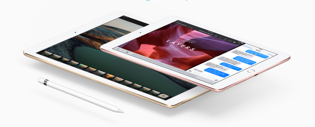 Apple presenta iPad Pro de 9.7 pulgadas