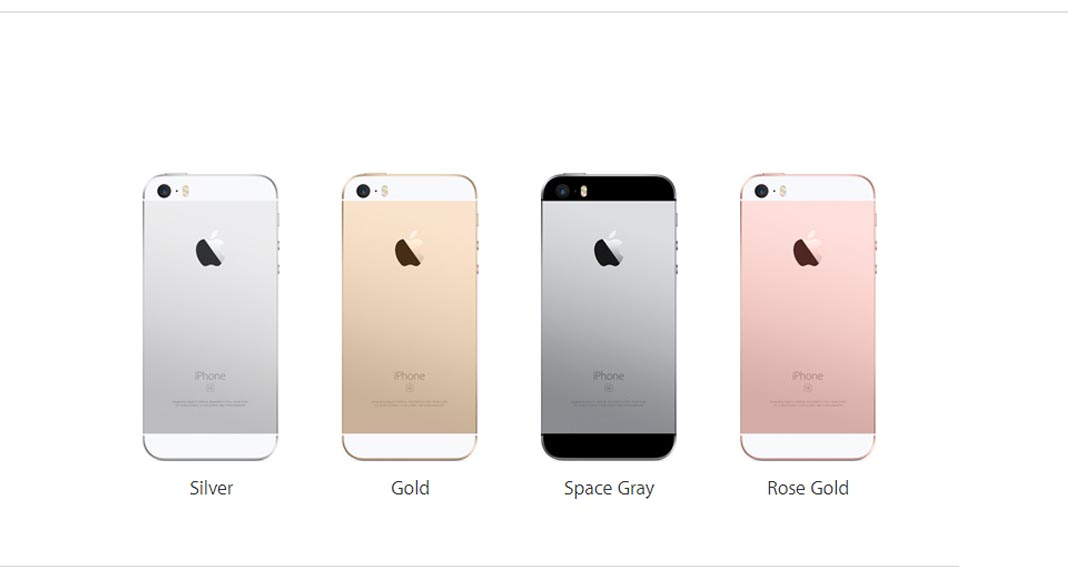 EscapeDigital - Apple Presentó el iPhone SE-Colors