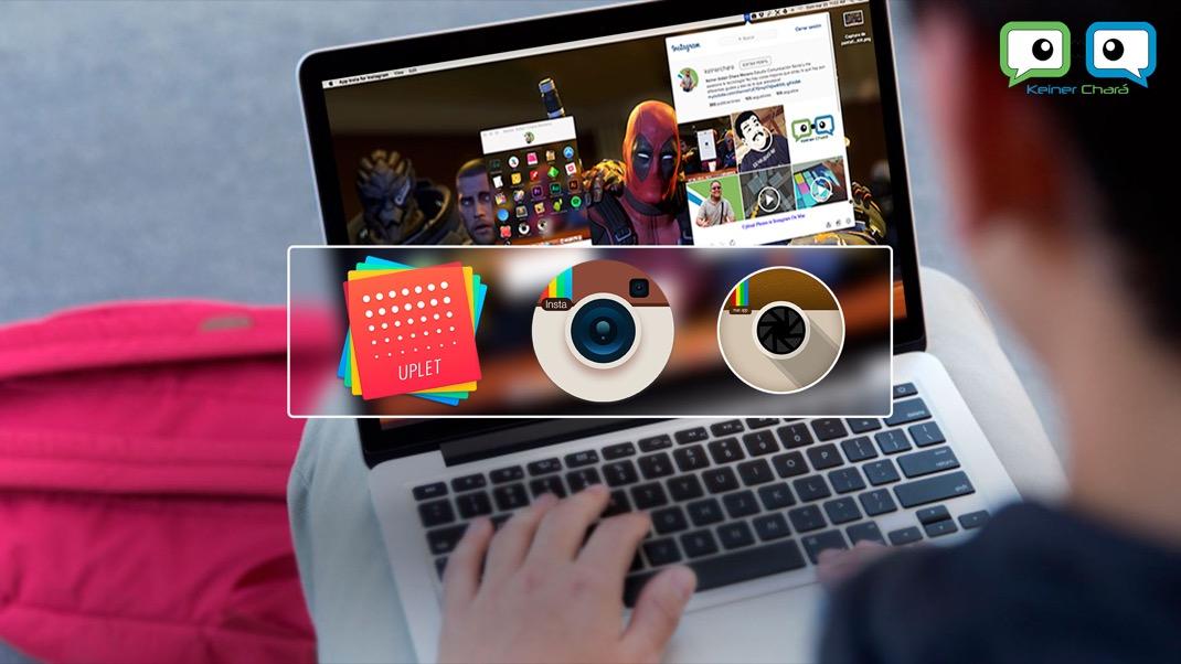 Como subir imagenes a Instagram desde el Mac