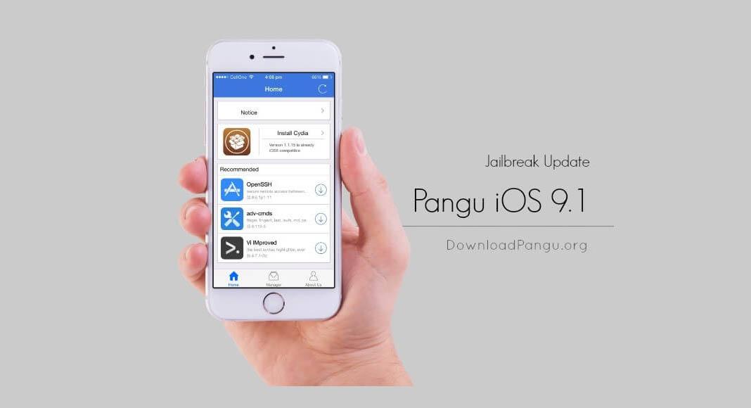 escapedigital-Pangu Libera Jailbreak para iOS9.1-2