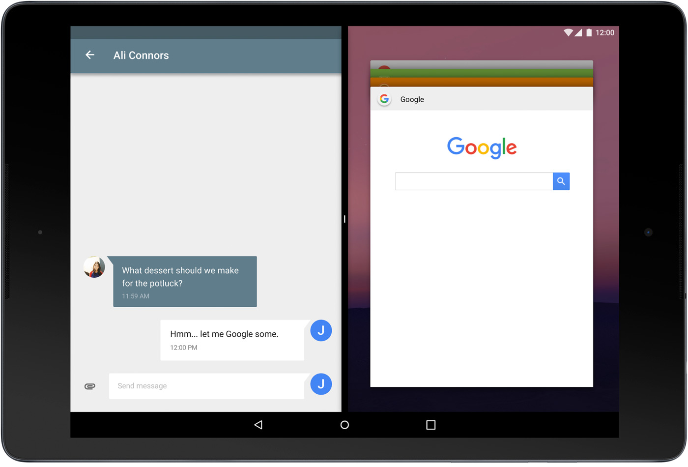 Android N Preview ya disponible con multiventana