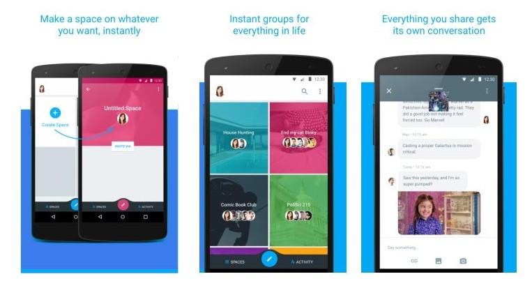 EscapeDigital - Google prueba Spaces, nueva App de mensajería grupal2