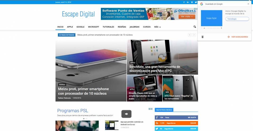 Save To Google, la nueva extensión para guardar links en tu navegador
