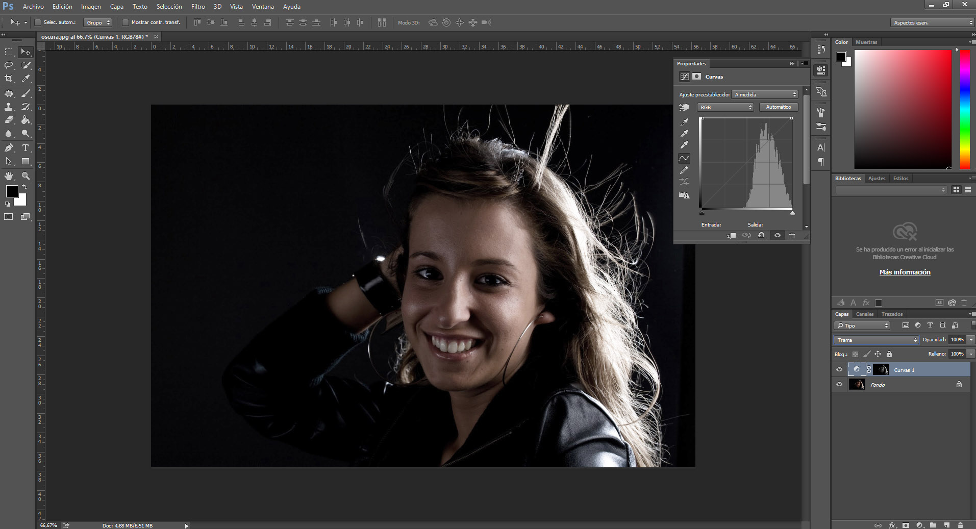 Como rescatar iluminaciones en Photoshop