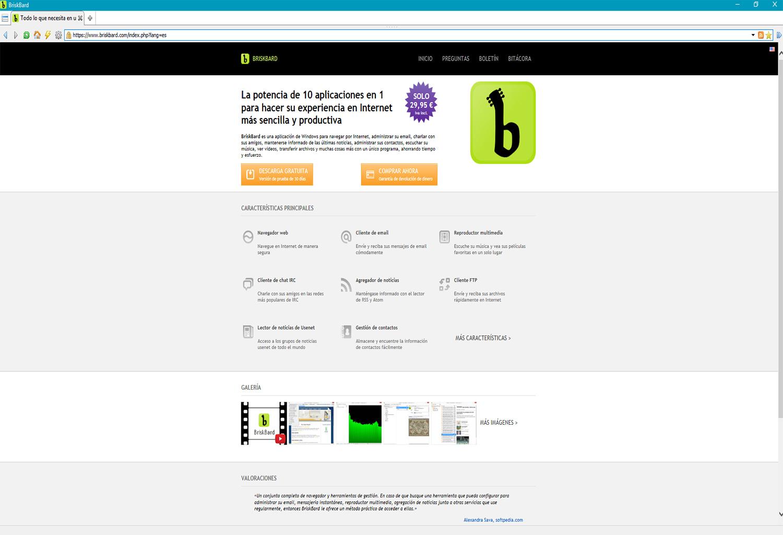 BriskBard, un navegador todo en uno ¡Sorteo!