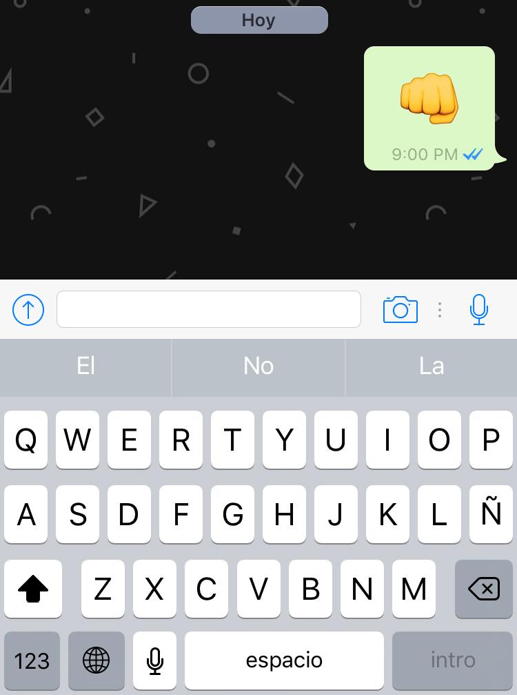 WhatsApp se actualiza para iOS con emojis grandes y zoom en vídeo