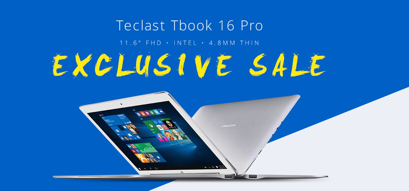 Promoción de venta rápida Tablest Teclast Tbook en GearBest
