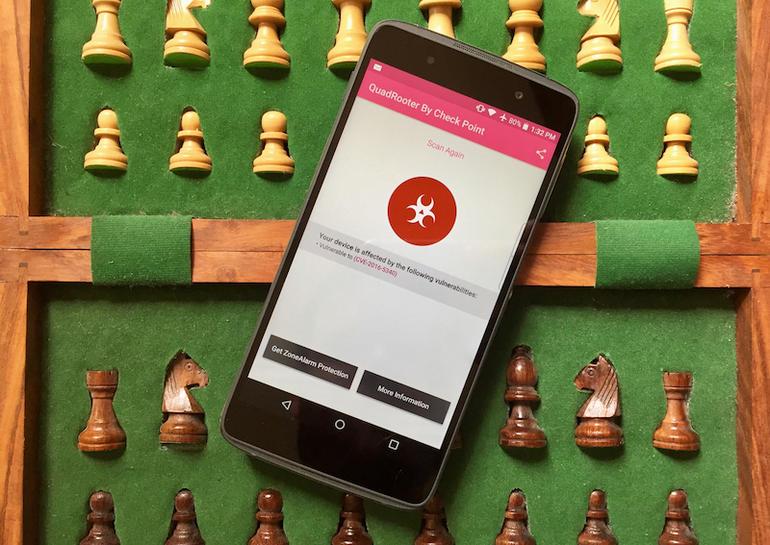 Quadrooter ¿Cómo saber si tu móvil es vulnerable?