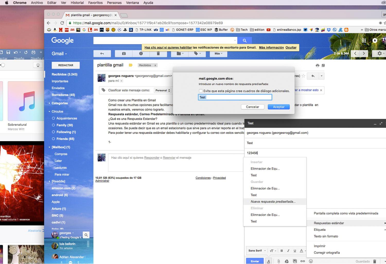 plantilla en gmail