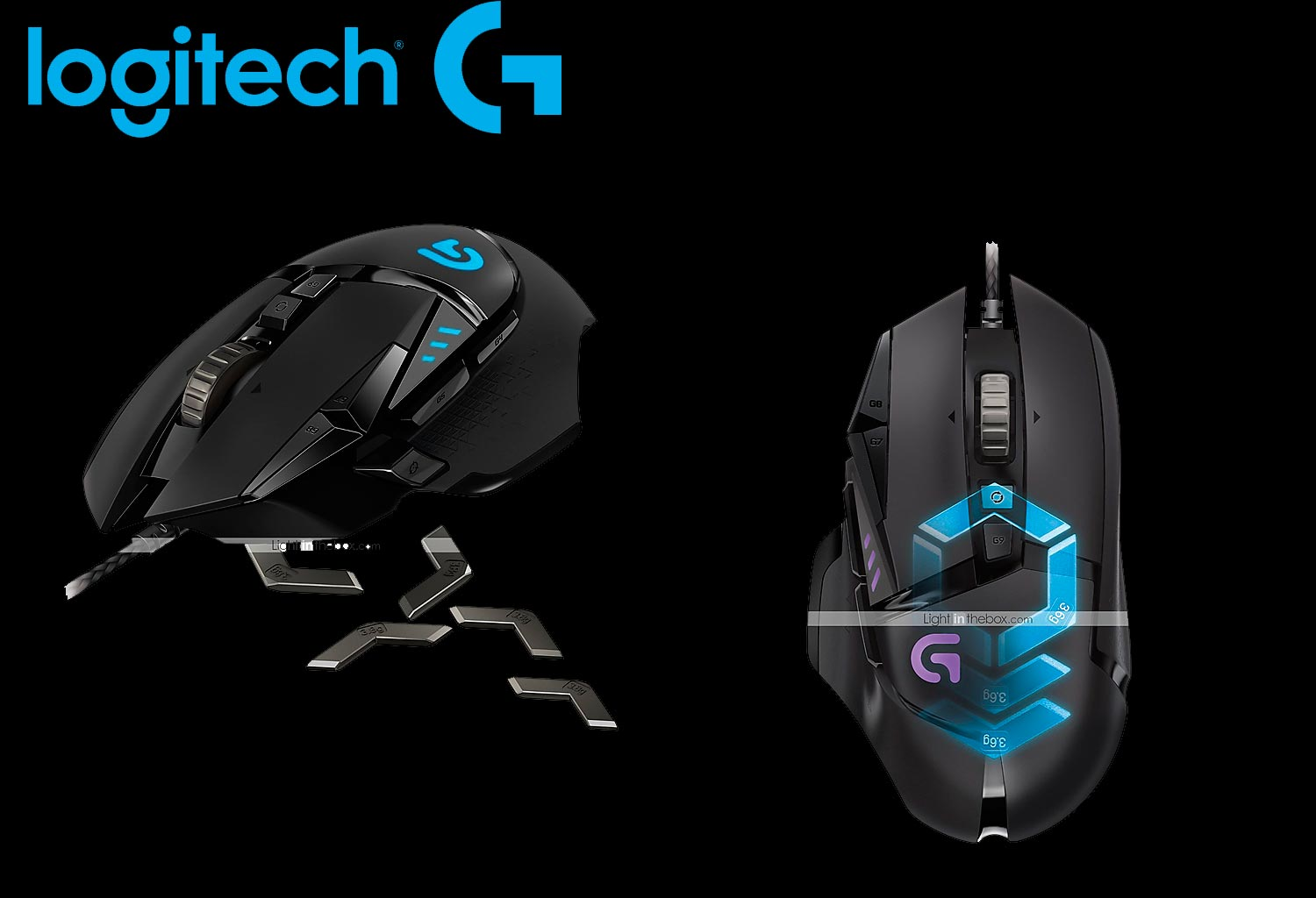 escape-digital- Mouse Gaming G502 logitech