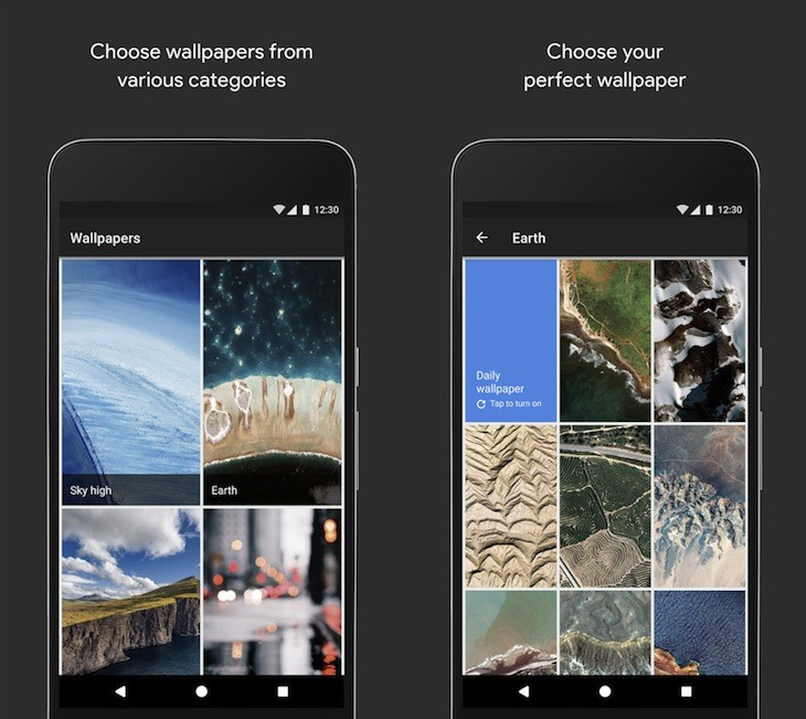 Google lanza una nueva app de Wallpapers