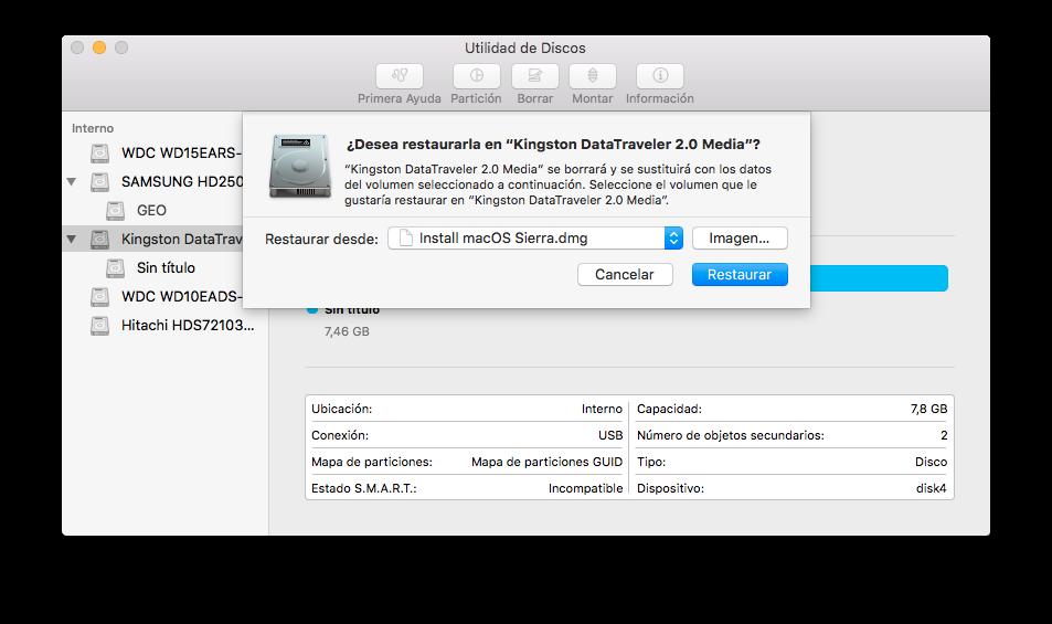instalar macos sierra desde-0-utilidad-de-discos