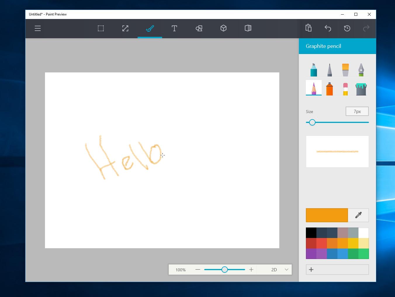 Instala el nuevo Paint en tu Windows 10 Anniversary Update x64