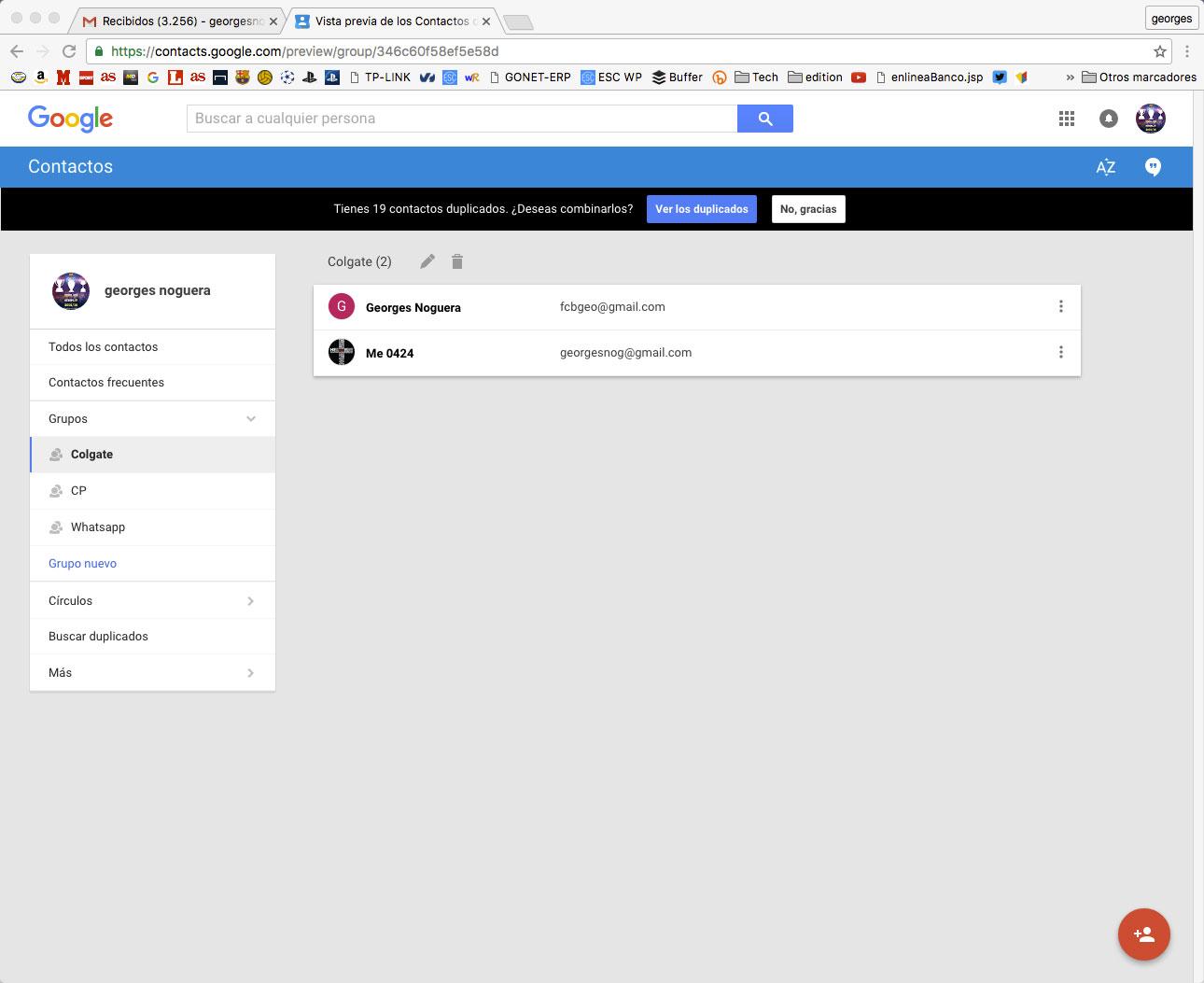 editar-grupos-de contactos en gmail