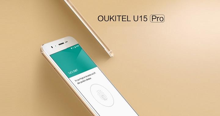 Oukitel U15 Pro 5.5 en LightInTheBox