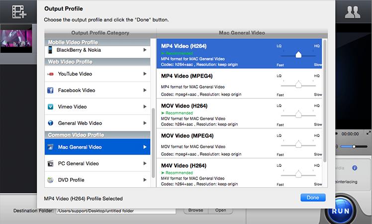 video converter para mac 3
