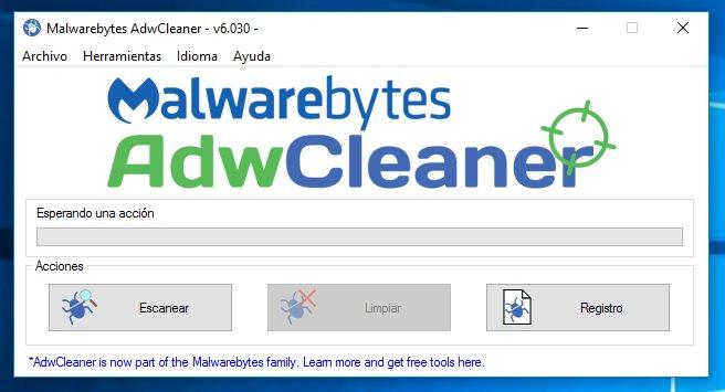 AdwCleaner: Manten libre de AdWare tu PC