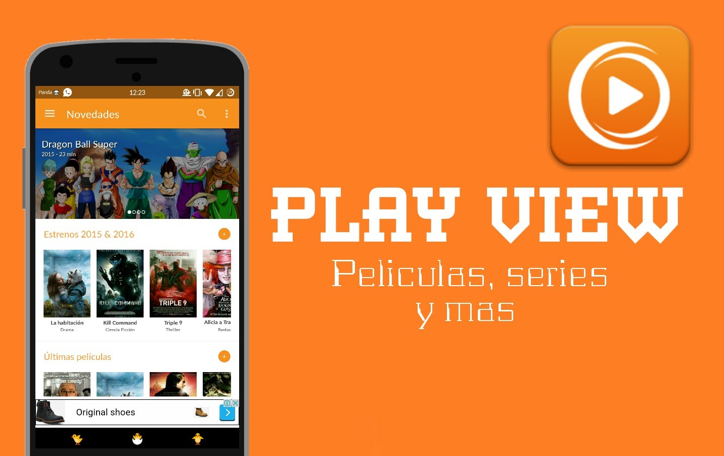 Ver películas y series gratis en Android