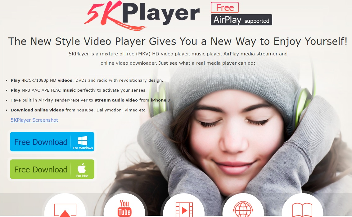 5KPlayer, el reproductor definitivo para tu entretenimiento multimedia