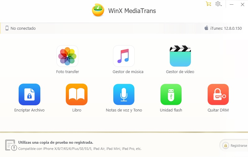 WinX MediaTrans: Cómo transferir archivos del PC al iPhone, iPad y iPod sin iTunes