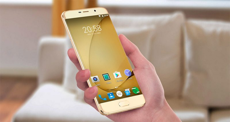 El Elephone S7 con pantalla curva