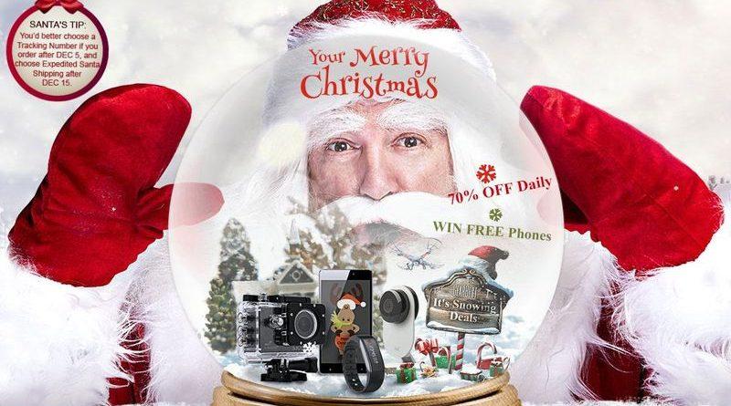 Aprovecha estas ofertas de GearBest para tus compras Navideñas