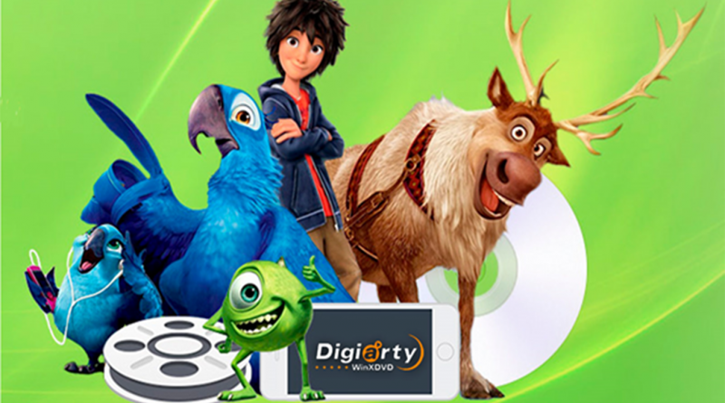 Usa WinX DVD ripper para convertir DVD al iPhone Android o a tu ordenador
