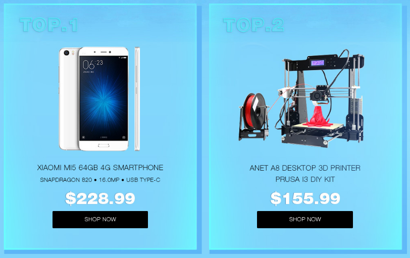 Ofertas: Gearbest Mid-Year Top 5o Epic Sale