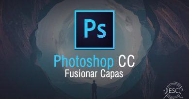 Capas: Fusionar Capas Photoshop
