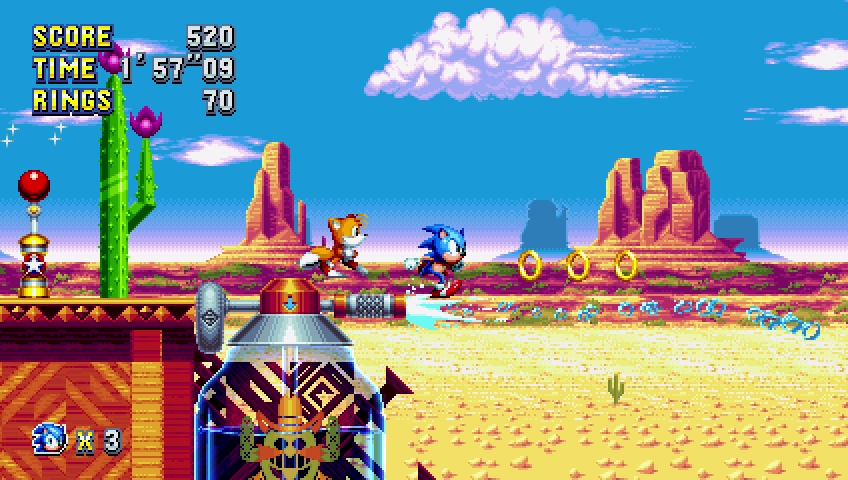 Por Fin está aquí!! Sonic Mania ha llegado y es todo lo que esperábamos y más, el regalo que los fans del erizo merecían!!