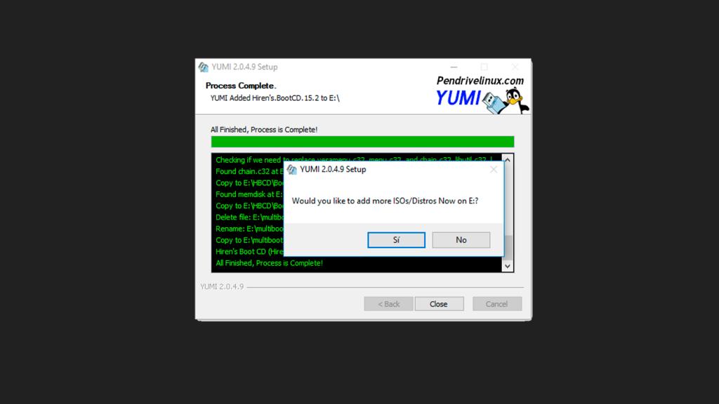 Yumi Multiboot de Sistemas Operativos en USB
