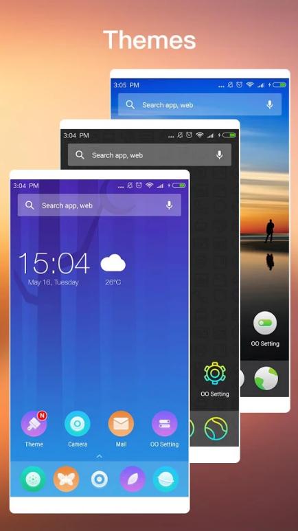 Launcher de Android Oro