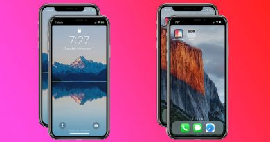 notch en iPhone X x