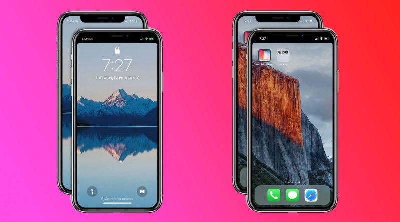 notch en iPhone X x