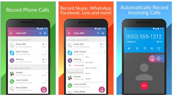 Cómo grabar las llamadas de Whatsapp, Telegram, Skype y mas en Android