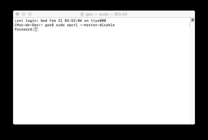 instalar apps en macOS High Sierra bajadas de internet