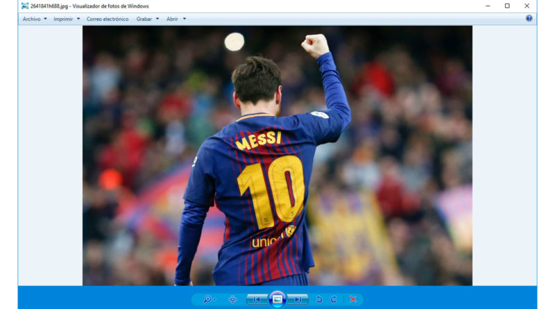 el visor de fotos de windows 7 en windows 10