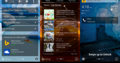 Picturesque Lock Screen: Bloqueo de pantalla para Android