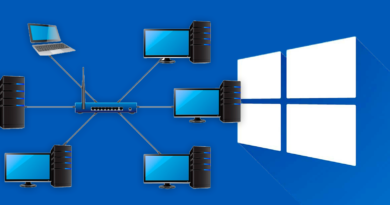 Crear una red local en windows 10
