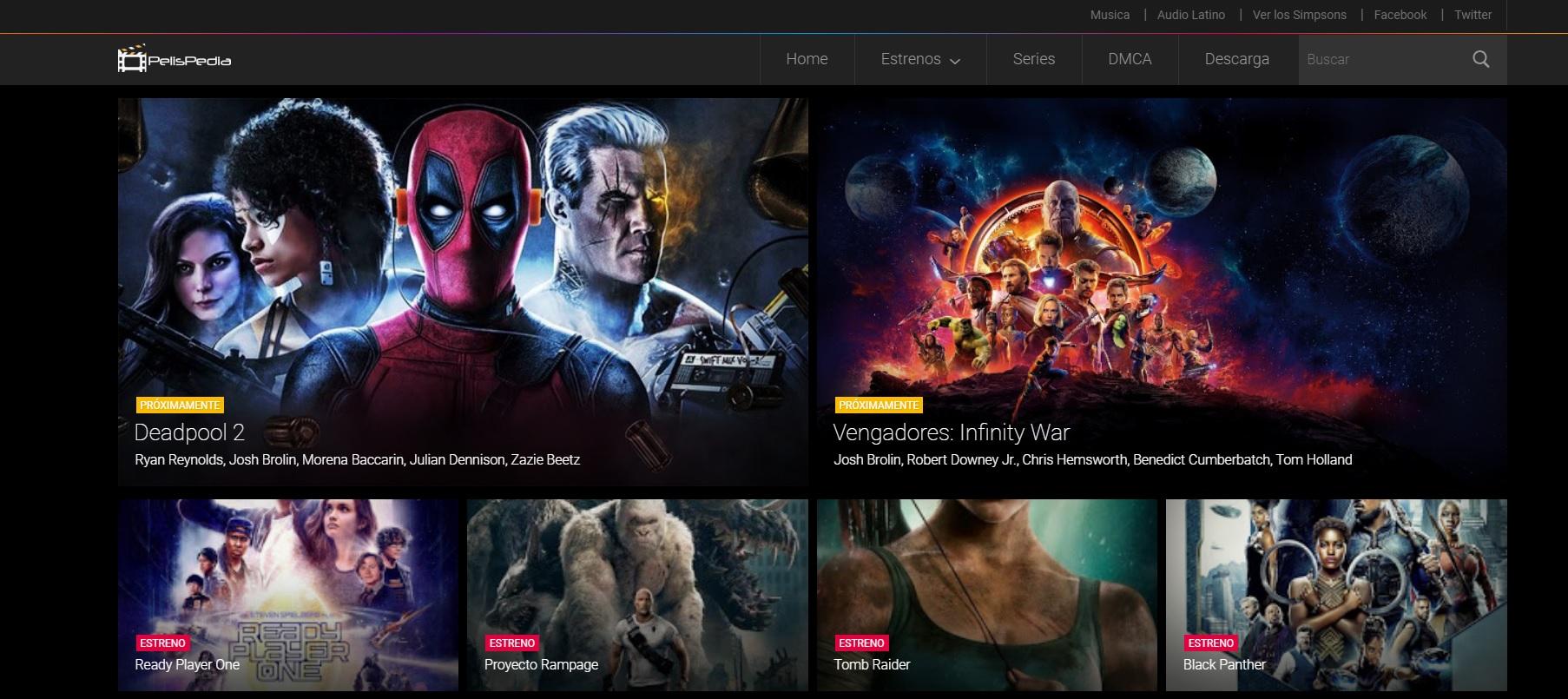 Pelispedia: Películas , series online sin descargar y sin registrarse