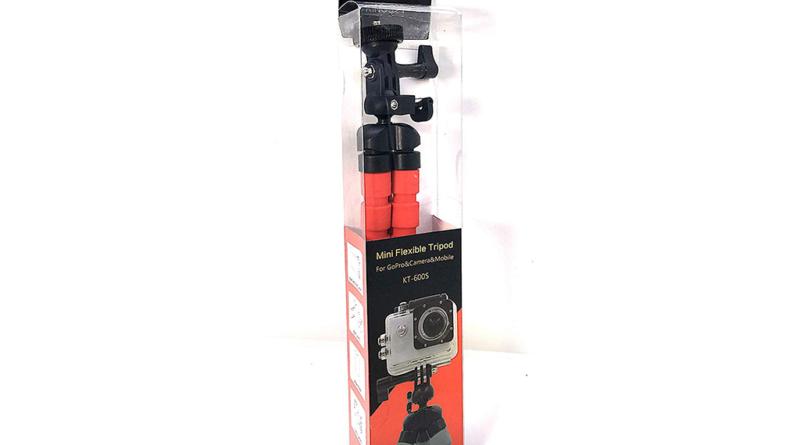 El mejor mini trípode flexible Gorila Mono Pod ideal para GoPro, Cámara y móviles