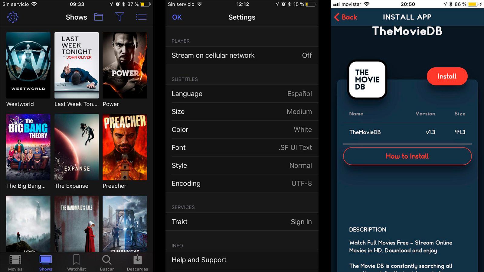 ver películas gratis en iPhone o iPad