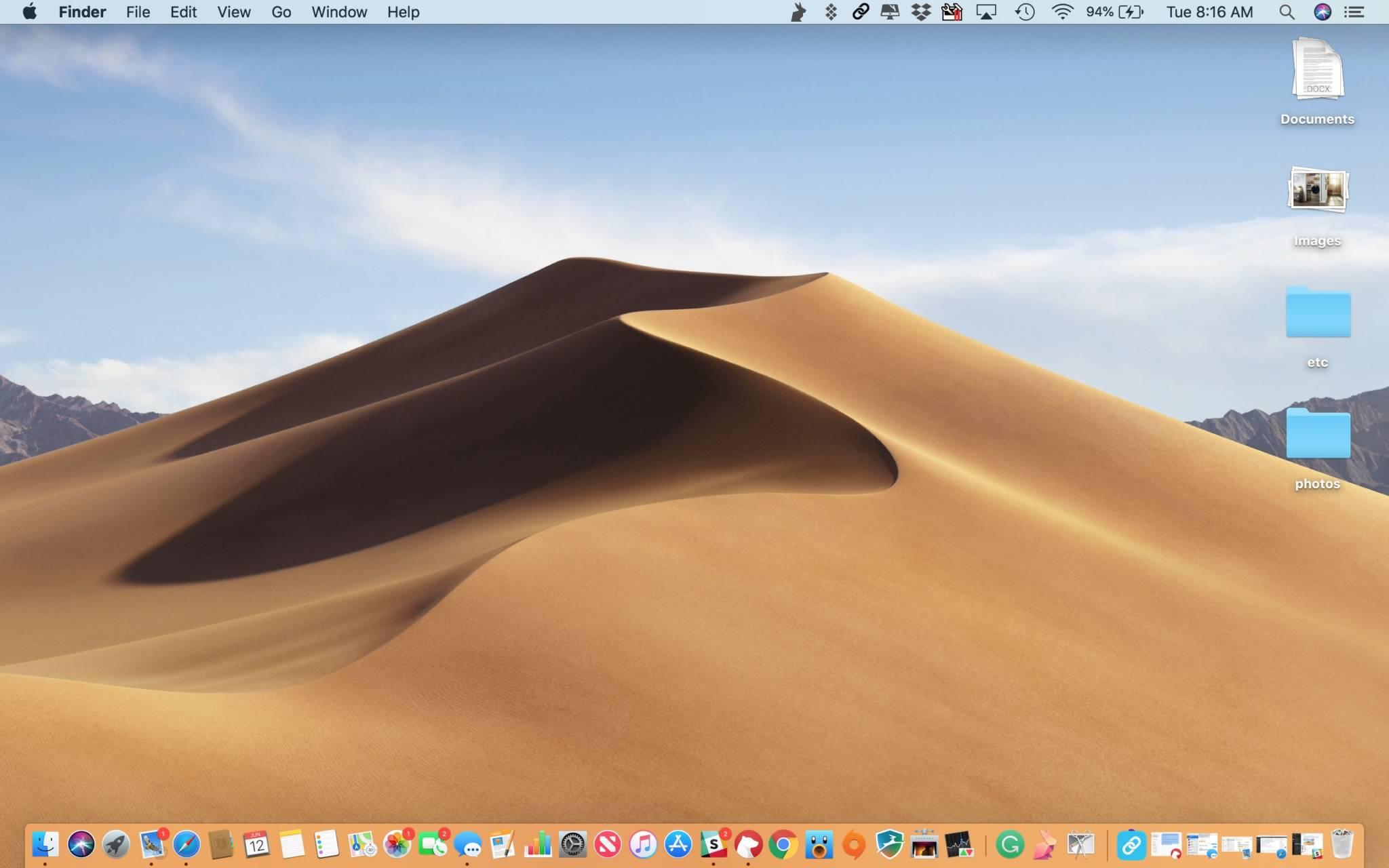 Cómo usar Stacks en macOS